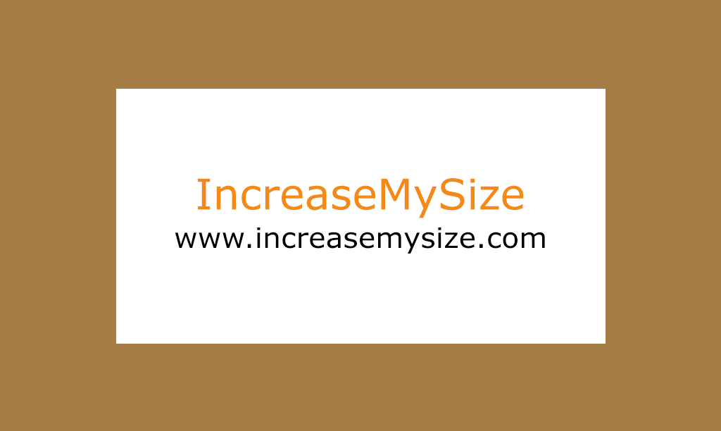 IncreaseMySize.com