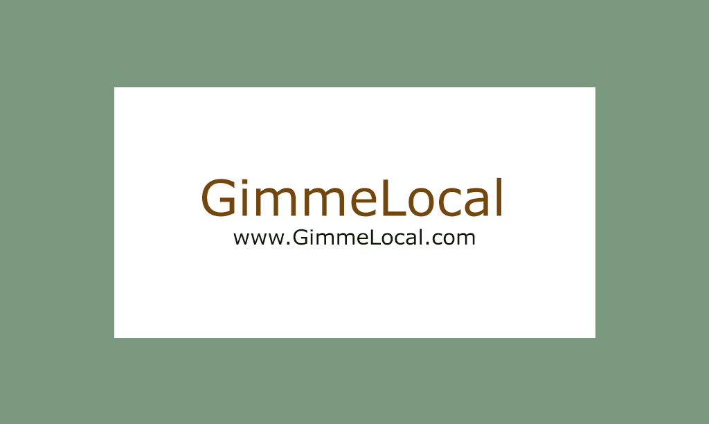 GimmeLocal.com